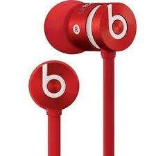 New Genuine Beats by Dr Dre urBeats 2.0 Earphones In-Ear Headphones Mic- All Red
