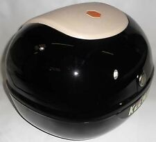 Black Hard Case, Luggage Box, Top Box for Scooter / Motorcycle, 815098