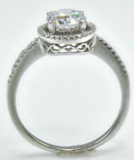 Brilliant Vintage Russian Quality Halo Ring Micro Set Band