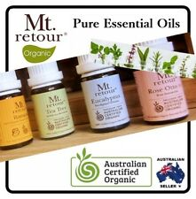 Mt Retour Essential & Blend Oils 100% Pure Certified Organic  - COMBINED POSTAGE