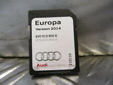 2014 AUDI A3 8V GENUINE SAT NAV SD CARD EUROPA 2014 SV0919866B #24366