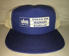 Vtg Volvo BM Trucker Hat cap rare MADE IN USA 80s tractor equipment farming