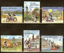 Mint Disney Grenada cartoons stamps  (MNH)