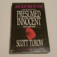 Presumed Innocent by Scott Turow Book on Tape Audio Cassettes Sealed John Heard