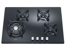 Whirlpool AKT466NB 4 Burner 70cm Gas Hob in Black FA7512