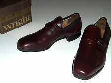 Breather Wright Arch Preserver Shoes Slip On Buckle Mens Size 7 Vintage New Nos