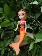 1pcs Little Mermaid Figures Baby Girl Playset Doll Toy --Orange