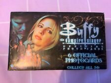 Buffy the Vampire Slayer 1 pack of 6 official photo cards New uk seller