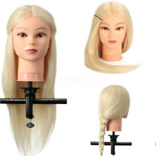90% Real Human Hair Hairdressing Training Head Mannequin Salon Practice