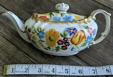 More details for hammersley chintz small queen anne teapot