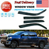 For Toyota Tundra Double Cab 2004-06 Window Vent Visor Rain Guards Deflector