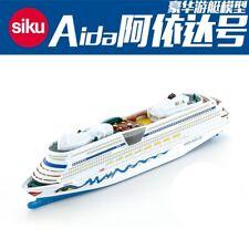 1:1400 Scale German Siku 1720 Cruise Ship Aida Luna Model Diecast  Toy Collectio