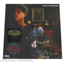 "SEALED & MINT - GANG STARR - DAILY OPERATION - 12"" VINYL LP - 180g / 3D SLEEVE"