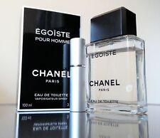Chanel EGOISTE POUR HOMME - 5ml/0.17oz Aluminum Travel Atomizer Sample