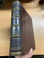 "1887 FRENCH LAW ""DALLOZ - RECUEIL PERIODIQUE DE JURISPRUDENCE"" HUGE ANTIQUE BOOK"