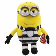 "TY 6"" Beanie Baby Plush Stuffed Animal - TOM (Prison Uniform) (Despicable Me 3)"