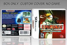 """NINTENDO DS : COMMANDO. UNOFFICIAL COVER. ORIGINAL BOX. """"NO GAME"""". ENGLISH."""