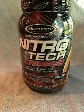 MuscleTech Nitro Tech Ripped Ultra Clean Whey Protein Isolate Powder + Weight...