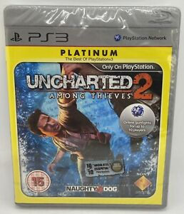PlayStation 3 Uncharted 2 Among Thieves Platinum Brand New Factory Sealed PS3