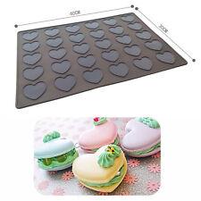 30 Cavity Macaron Silicone Mat Pastry Cake Macarons Mould Silikon Mold Christmas