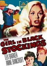 The Girl in Black Stockings NEW DVD