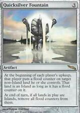 Quicksilver Fountain SP/PL Mirrodin MTG Magic The Gathering Artifact Eng Card