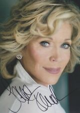 JANE FONDA 1 Foto 20x27 8x10 signed signiert IN PERSON Autogramm autograph