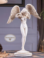 Art Deco Sculpture Nude Angel Woman Girl Resin Statue Figurine