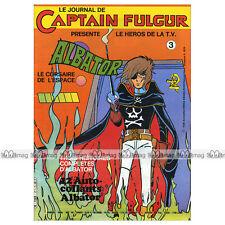ALBATOR N°3 Le journal du Captain Fulgur, San Ku Kai 1980 (Harlock / Hārokku)