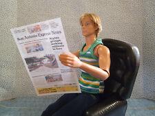 Barbie 1:6 Miniature Newspaper Free Funny Papers YOU CHOOSE   HANDMADE bb