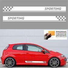 adesivi fasce auto stickers con spatola in omaggio tuning turbo racing abarth