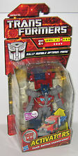 Transformers Activators Rally Rumble Optimus Prime MIB