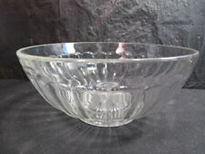 """Antique Imperial  """" Iron Cross """"  Serving Bowl  - Colonial Pressed  - Clear Ribs"""