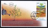 ISRAEL STAMPS 2011 ANCIENT MODERN HEBREW LANGUAGE FDC