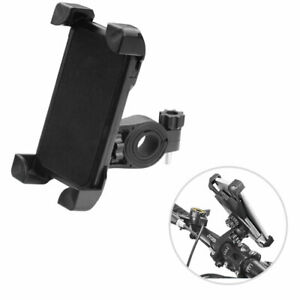 Black Bicycle Bike Mount Holder Universal Handle Bar Clip GPS For Cell Phones