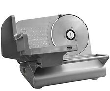 "Electric Meat Slice Commercial Food Cafe Restaurant Cutter Blade Steel 7.5"" Aid"