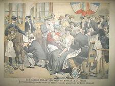 VACCINATION CONTRE LA VARIOLE ROI EDOUARD VII EN FRANCE LE PETIT JOURNAL 1905