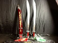 Tiger Claw Combat Double Broadswords
