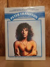 Peter Frampton Biography - The Man Who Came Alive Hardcover Book w/ dust jacket