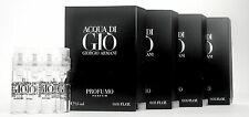 ACQUA DI GIO PROFUMO PARFUM by GIORGIO ARMANI 1.5ml .05oz Cologne Mini Spray x4