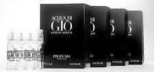 ACQUA DI GIO PROFUMO PARFUM by GIORGIO ARMANI 1.5ml .05oz Cologne Mini Spray x4