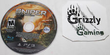 USED Sniper Ghost Warrior PS3 (NTSC) (Disc Only)