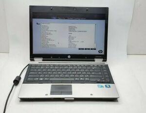 HP EliteBook 8440p  i5-M560 @2.67 6GB RAM No HDD  No pwr Adapt