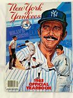 1983 NEW YORK YANKEES YEARBOOK