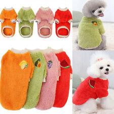 Winter Puppy Cat Warm Fleece Coat Jumper Dog Clothes Sweater Sweatshirt Jacket