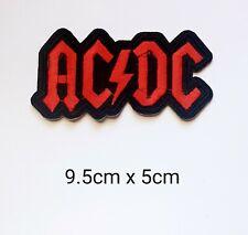 AC/DC Vest Biker Harley Davidson Embroidered Badge Iron Sew On