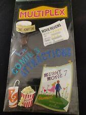 Scrapbooking Stickers Movie Night Mushy Movie Popcorn Jolee's Boutique