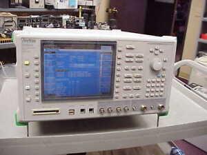 Anritsu MT8820A Radio Communication Analyzer 30MHz-2.7GHz Opt: 01, WCDMA OPTIONS