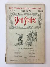 Short Stories – June 1895 Pulp - Doyle - Dumas