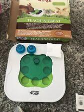rabbit teach and treat toy